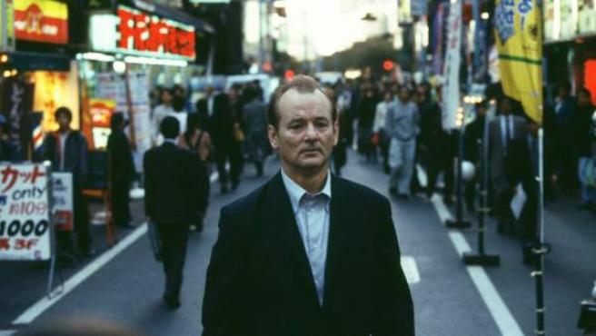 El actor Bill Murray, en una fotograma de la película 'Lost in Translation' (2003), dirigida por Sofia Coppola.