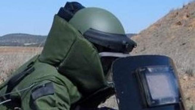 Tedax de la Guardia Civil, en una imagen de archivo.