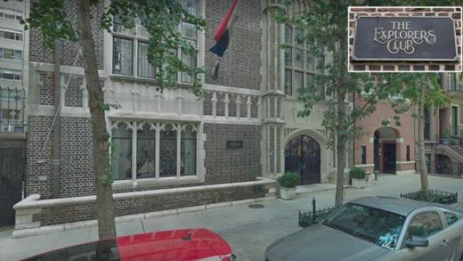 Sede de Nueva York del Explorers Club.