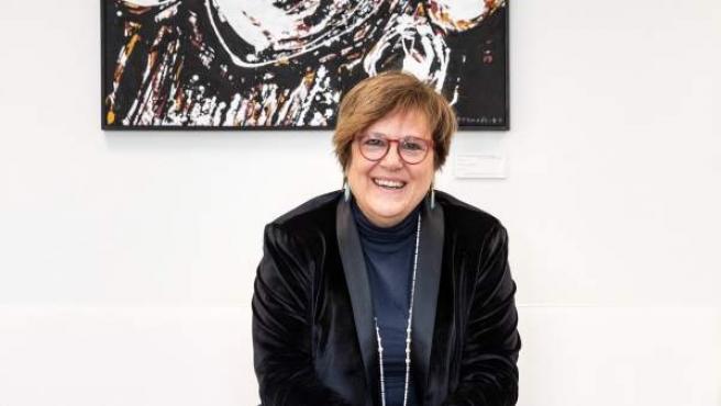 Ángeles Heras, secretaria de Estado de Universidades e I+D+i y presidenta del Observatorio Mujeres, Ciencia e Innovación, en su despacho.