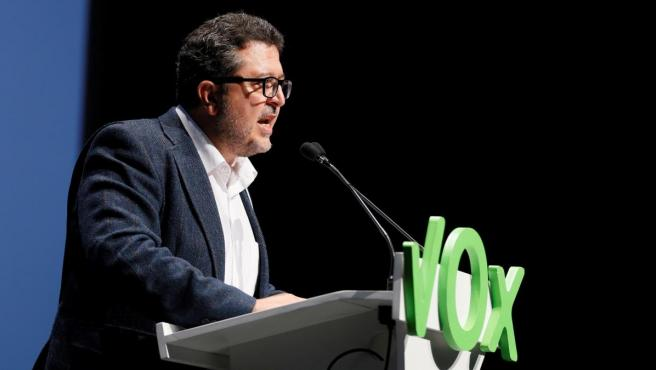 Francisco Serrano es el líder de Vox en Andalucía.