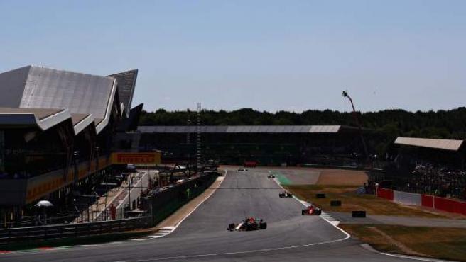 Circuito de Silverstone, donde se celebra el Gran Premio de Gran Bretaña.