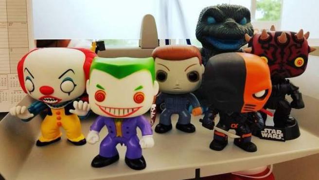 Pequeña colección de muñecos Funko POP!