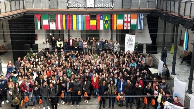 Estudiantes Erasmus en la Universidad de Cádiz.