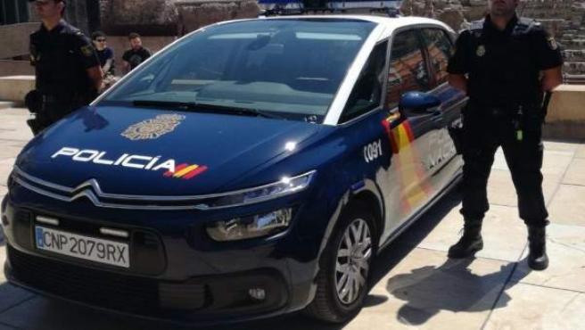 Agente policía nacional málaga coche CNP recursos detención atención