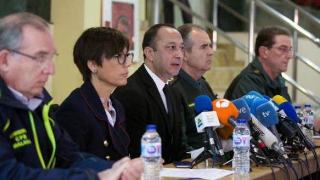 El delegado del Gobierno en Andalucía, Alfonso Rodríguez Gómez de Celis (c).
