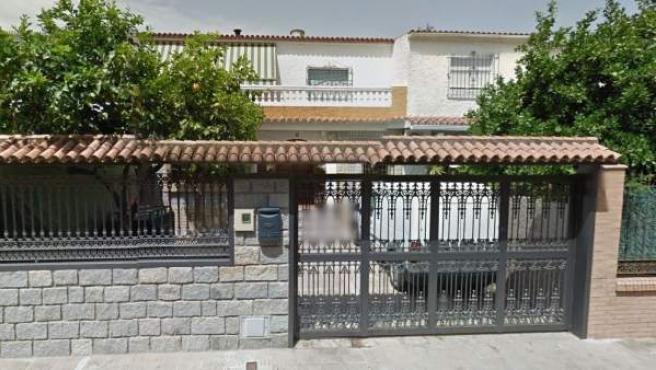 Imagen del número 4 de la calle Cepeda, en Dos Hermanas, Sevilla.