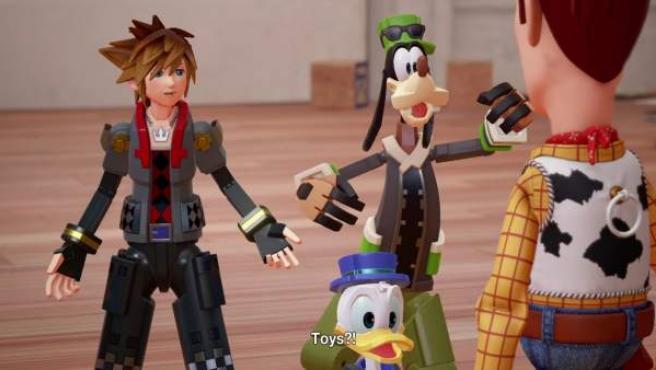Imagen del tráiler de 'Kingdom Hearts III'.