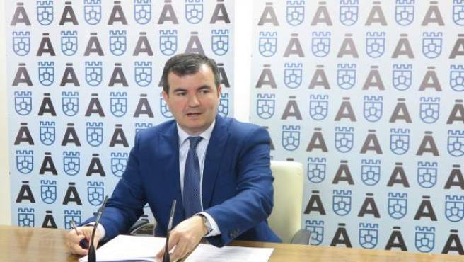 El portavoz del Gobierno de la Diputación de Ávila, Juan Pablo Martín