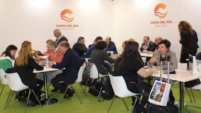 Estand costa del sol presentaciones turismo fitur profesionales reuniones exposi
