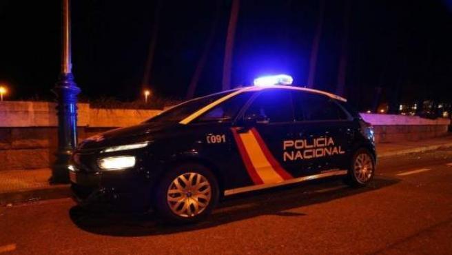 Cotxe de Policia Nacional en imatge d'arxiu