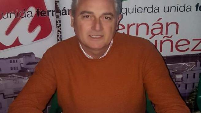 Alfonso Alcaide, candidato de IU a la Alcaldía de Fernán Núñez
