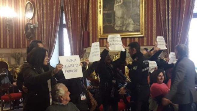 Protesta de También Somos Sevilla