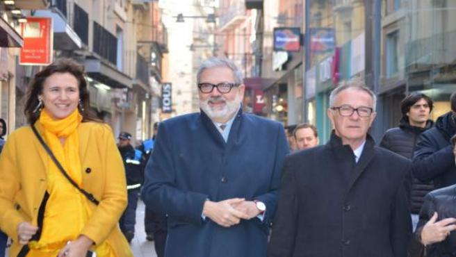 Laura Borràs, Fèlix Larrosa Y José Guirao