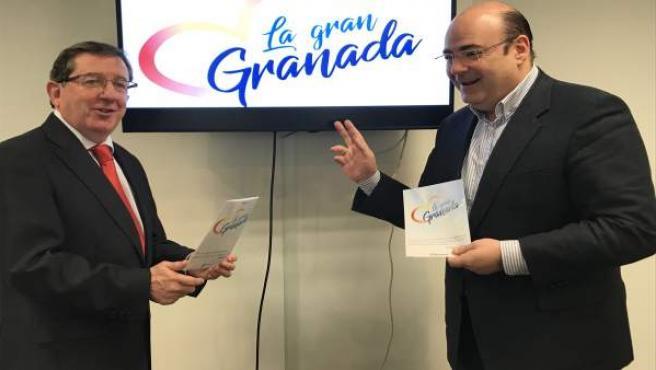 Luis González y Sebastián Pérez