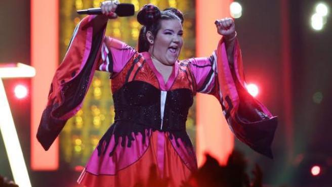 La cantante israelí Netta cantó 'Toy'.
