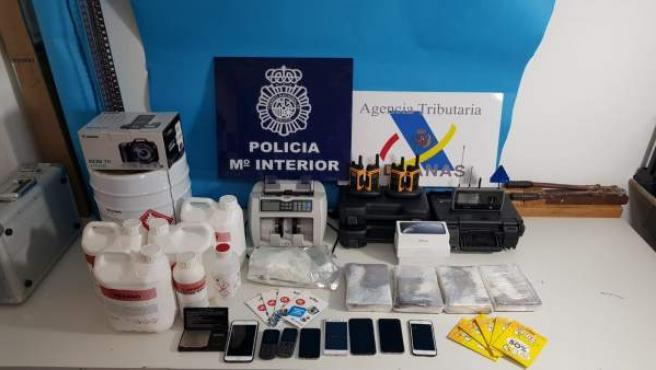 Tres detenidos en un operativo contra el narcotráfico en Arousa.