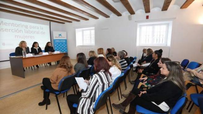 Clausura de un programa de mentoring para mujeres con dificultades de acceso al