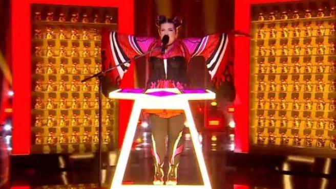 Netta, ganadora de Eurovisión 2018.