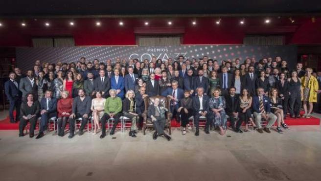 Fiesta de los nominados a los 33 Premios Goya