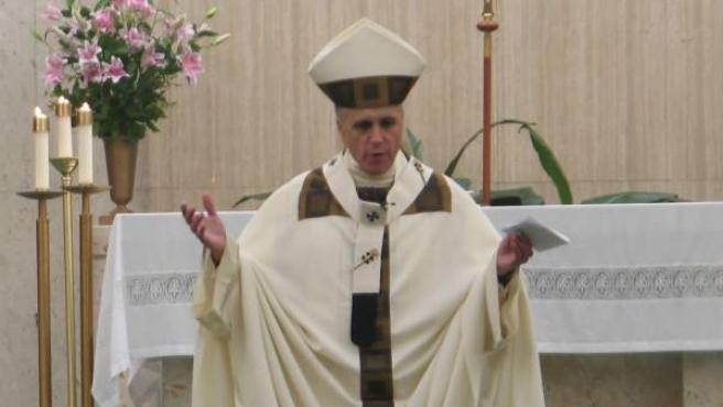 El cardenal Daniel DiNardo, arzobispo de la diócesis de Galveston-Houston (Texas, EE UU), en una imagen de archivo.