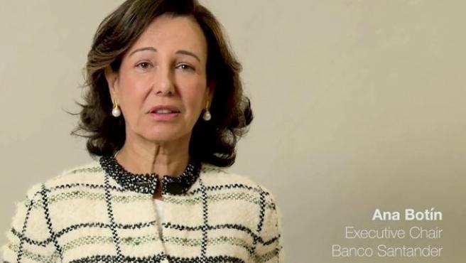 La presidente del Grupo Santander, Ana Patricia Botín, promociona nuestro país en el vídeo 'This is real Spain'.