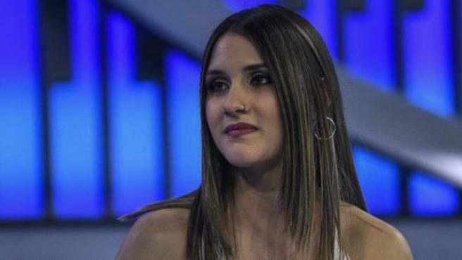 Sabela en la Gala de 'Operación Triunfo' para escoger al representante español de Eurovisión 2019.