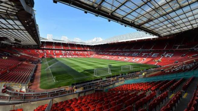 El estadio de Old Trafford.