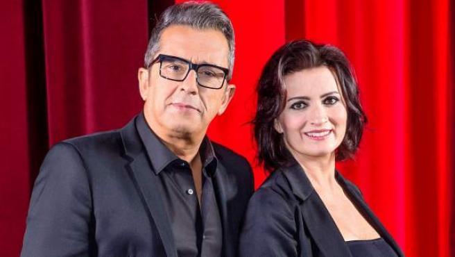 Buenafuente y Silvia Abril, presentadores de los Goya 2019.