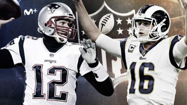 Rams y Patriots se enfrentan en la LIII Super Bowl.