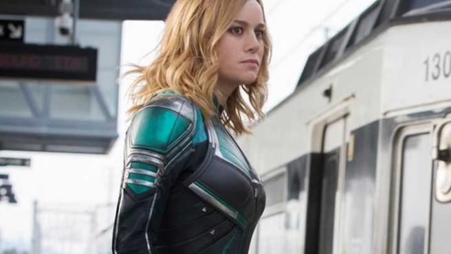 'Capitana Marvel': Brie Larson pelea en el primer clip de la película