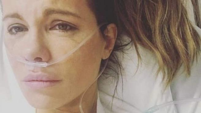'Hospital selfie' de Kate Beckinsale.