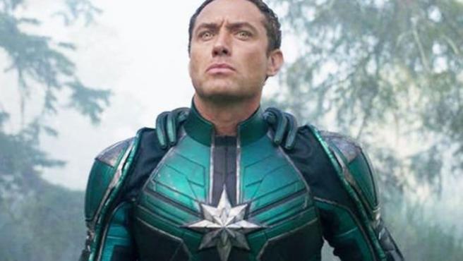 ¿A qué actor sustituye Jude Law en 'Capitana Marvel'?