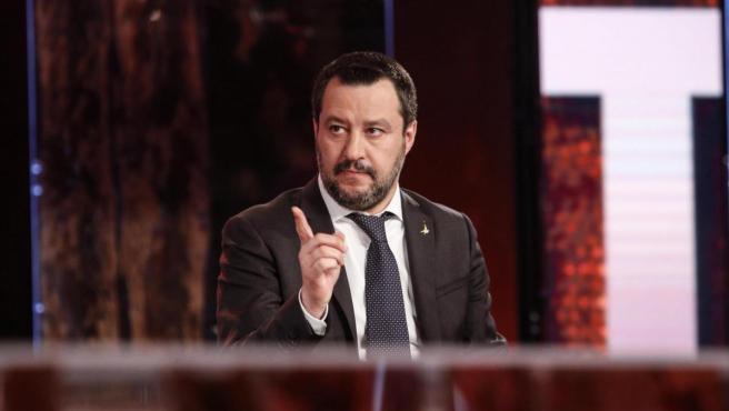 Matteo Salvini, vicepresidente y ministro de Interior de Italia.
