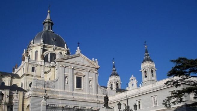 Imagen de archivo de la Catedral de la Almudena.