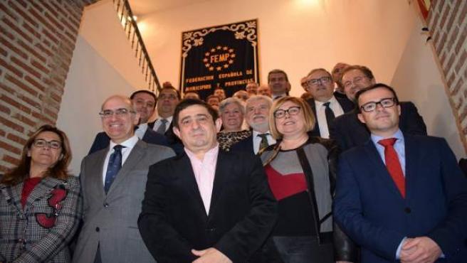 Reunión de la comisión de diputaciones, cabildos y consejos insulares de la FEMP