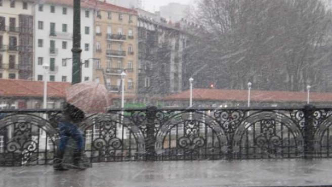 Euskadi sufre el segundo enero más lluvioso y frío del siglo