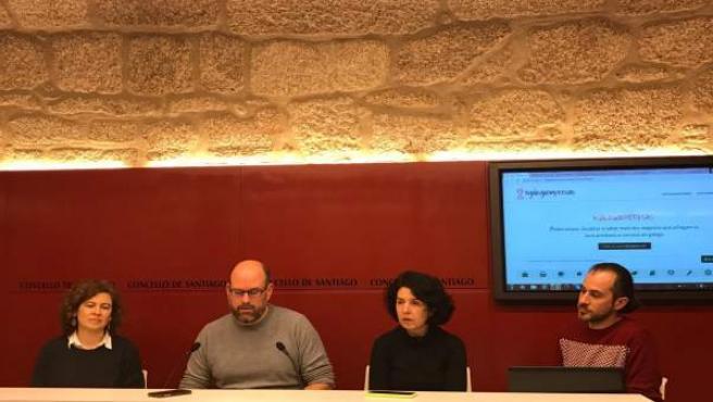 Presentación del proyecto Galegoempresas, de Santiago, Ames y Teo,