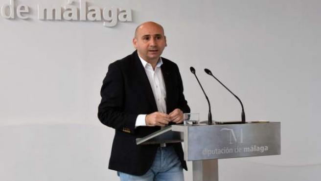 Francisco Conejo portavoz del PSOE en Diputación de Málaga PSOE-A político
