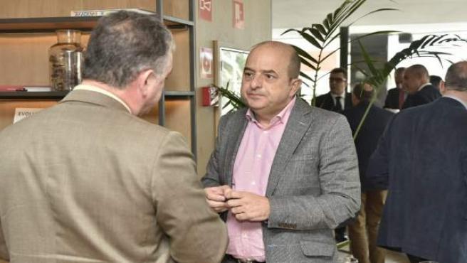 El presidente de la Autoridad Portuaria de Las Palmas, Juan José Cardona