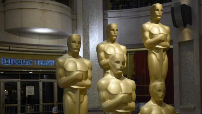 Estatuillas de los Oscar.