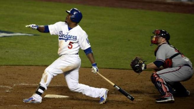 Imagen de un partido de Los Angeles Dodgers.