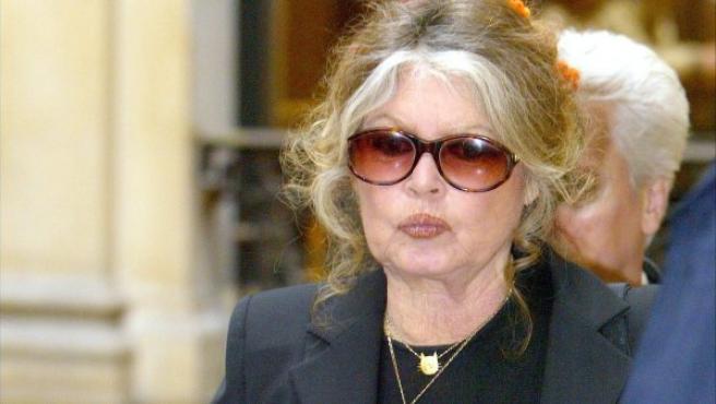 La actriz Brigitte Bardot en una imagen de archivo.