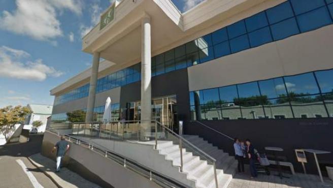 Imagen del Tanatorio El Salvador, en Valladolid.