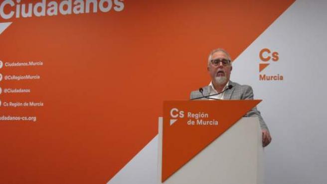 Ramón Fernández presenta su candidatura a las primarias de Cs para las eleccione