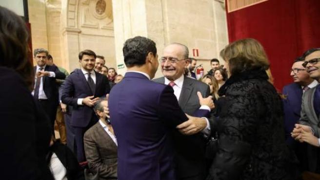 Alclade saluda felicita a juanma moreno investidura presidente junta