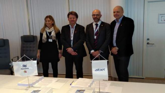 Firma del contrato de Navantia para la plataforma noruega