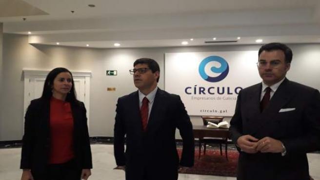 El Secretario De Estado Internacionalización De Portugal, Eurico Brilhante Días,