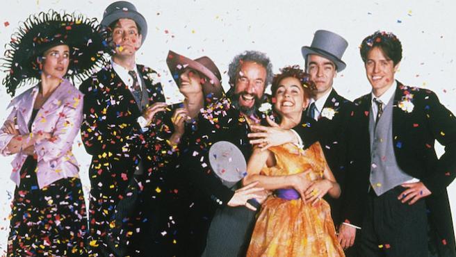 Foto del día: El elenco de 'Cuatro bodas y un funeral' se reúne 25 años después