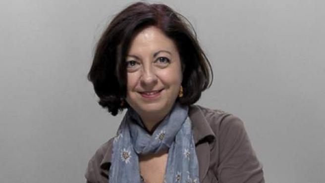 La escritora Ana Alcolea